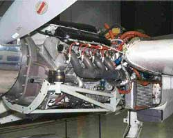 ORENDA 600 HP V8 Engine on Aero-Commander 685